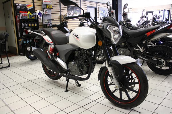 KSR Moto Code 125cc X 125 Naked 2018 WHITE