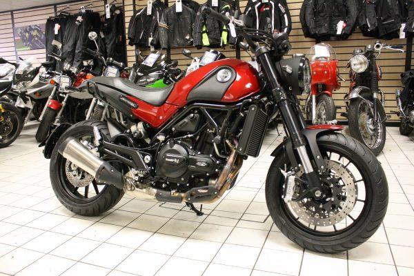 Benelli Leoncino 500cc 47bhp 2018