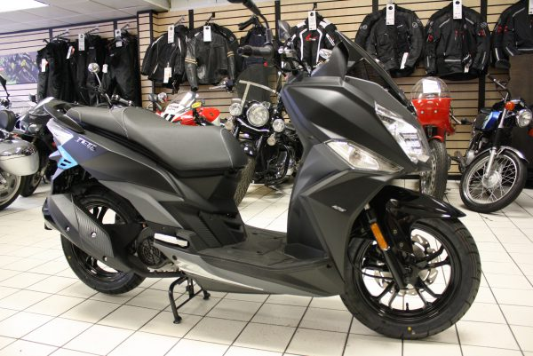 SYM JET 14 2018 BRAND NEW 125CC BLACK