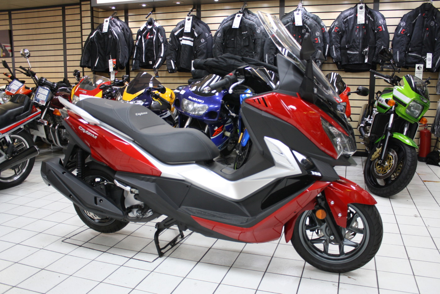 Sym Cruisym 300 ABS