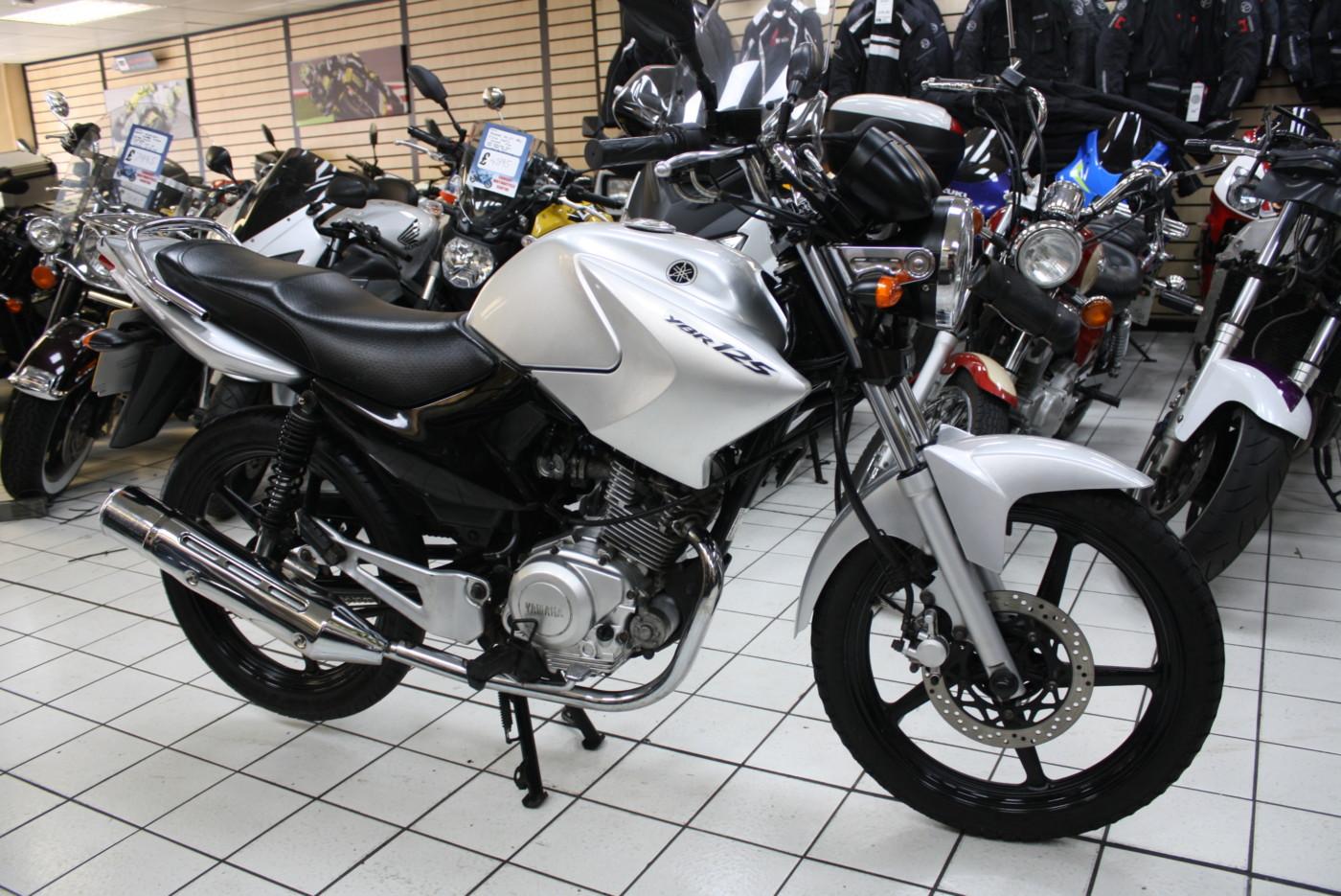 Yamaha YBR125 125cc leaner legal