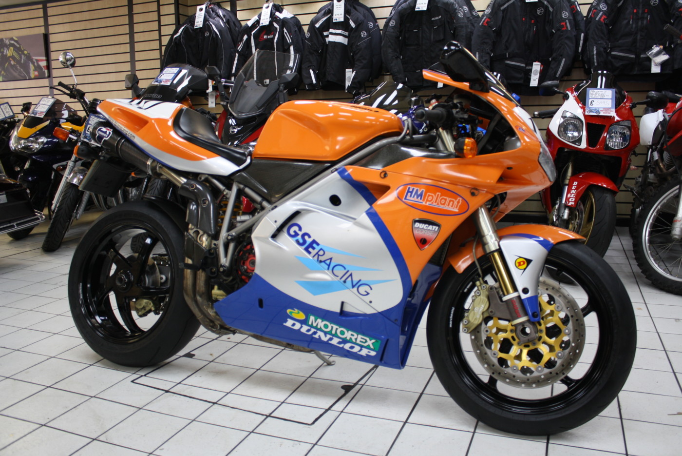 Ducati 996s Official Neil Hodgson Replica