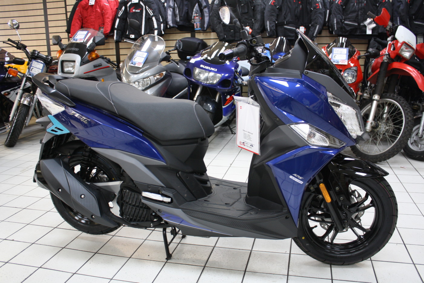 SYM JET 14 125cc Liquid Cooled Blue