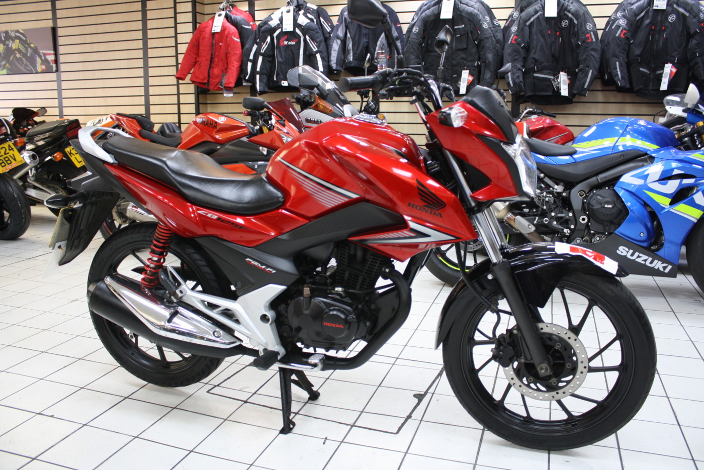 Honda GL125 CB125F 125cc