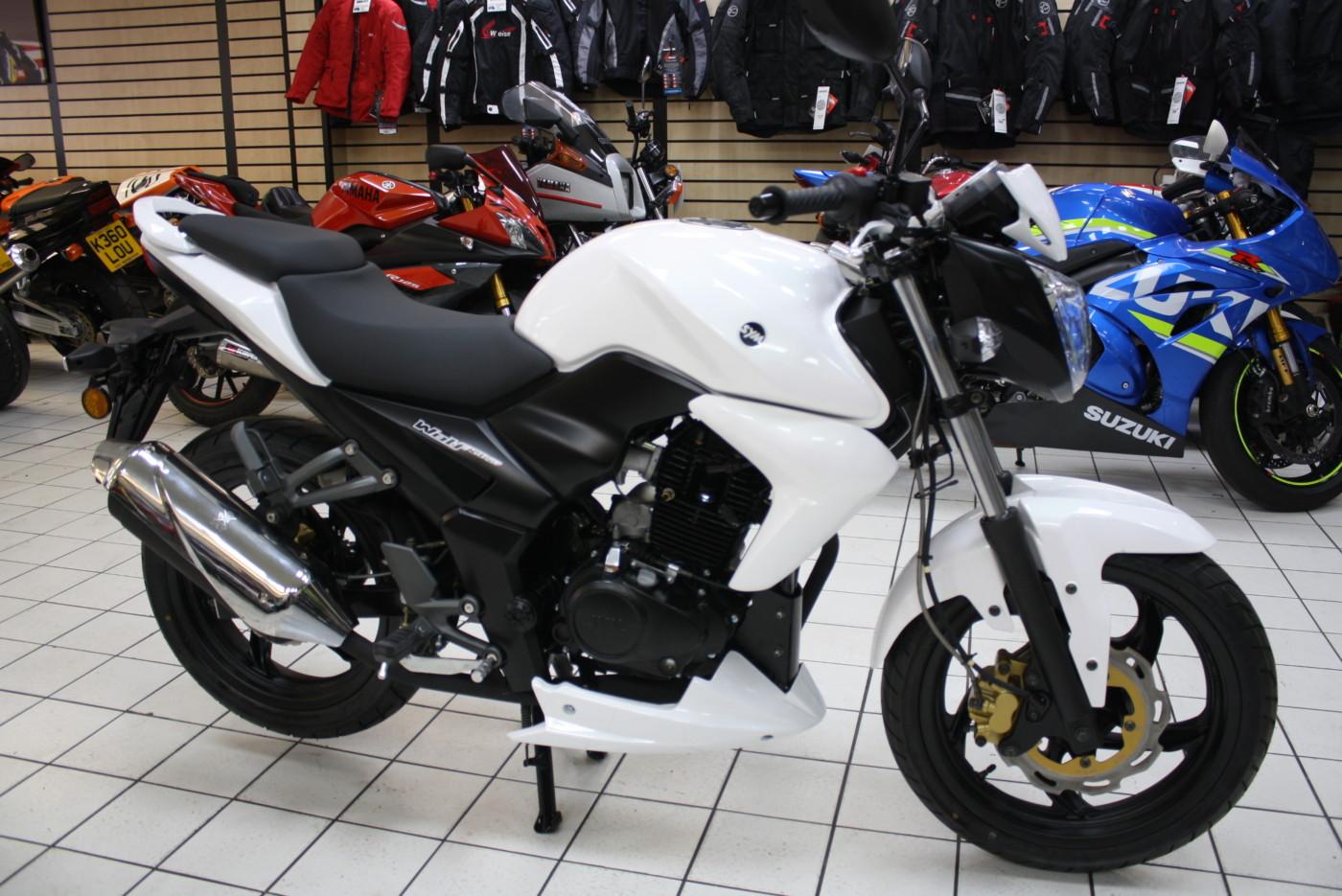 Sym Wolf 125cc White