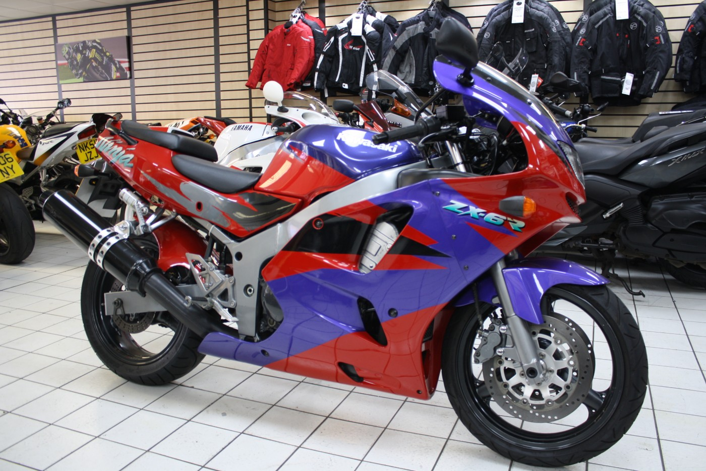 Kawasaki ZX600 ZX Ninja 1996 – Cardiff Motorcycle Centre