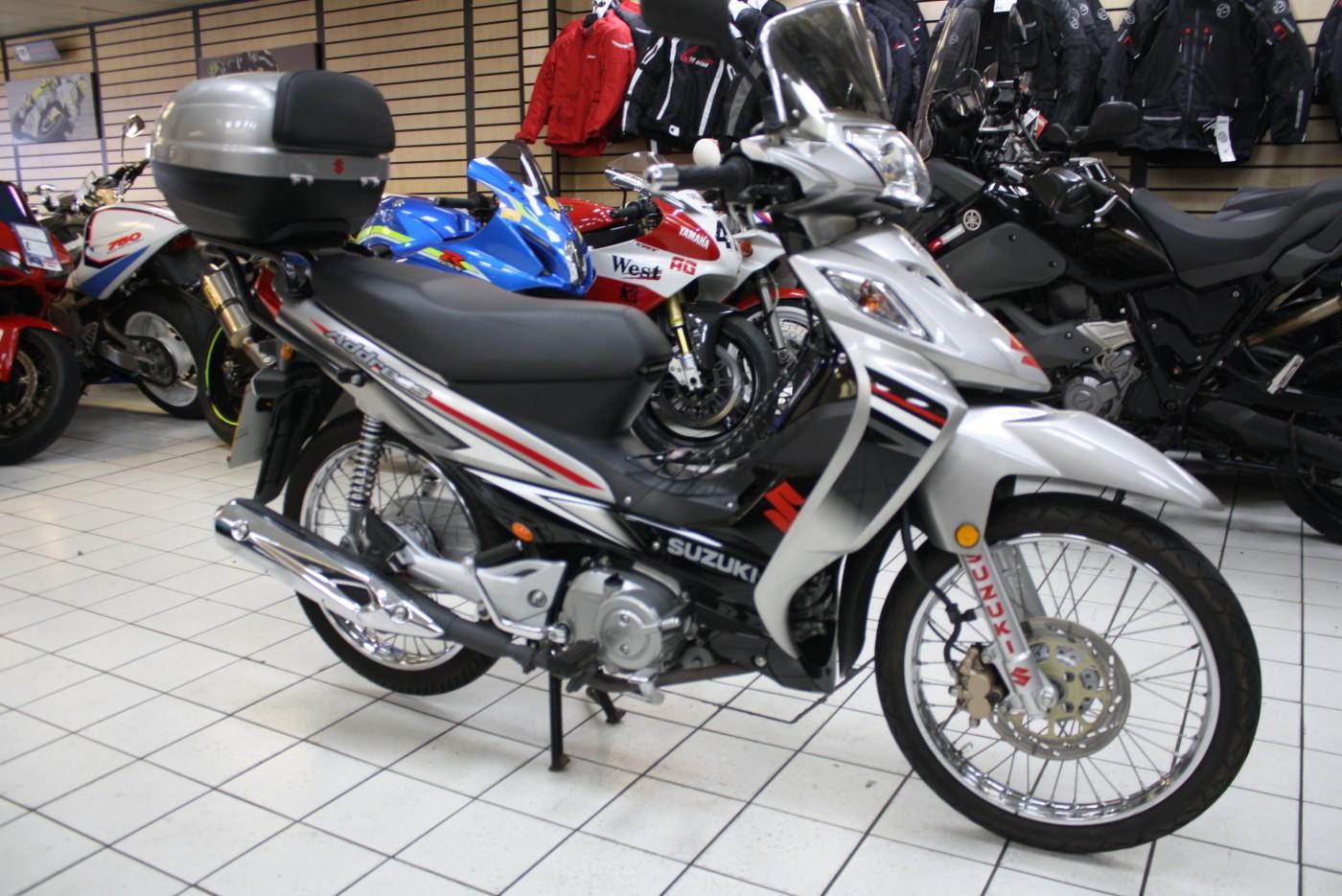 Suzuki FL 125 S DW K8 ADDRESS