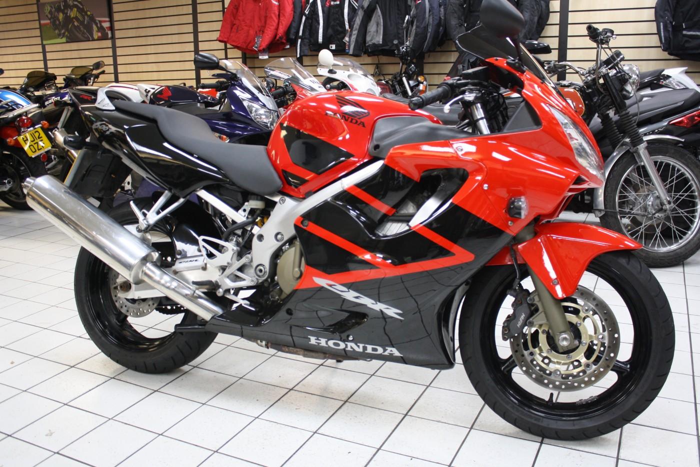 Honda CBR600F 2008