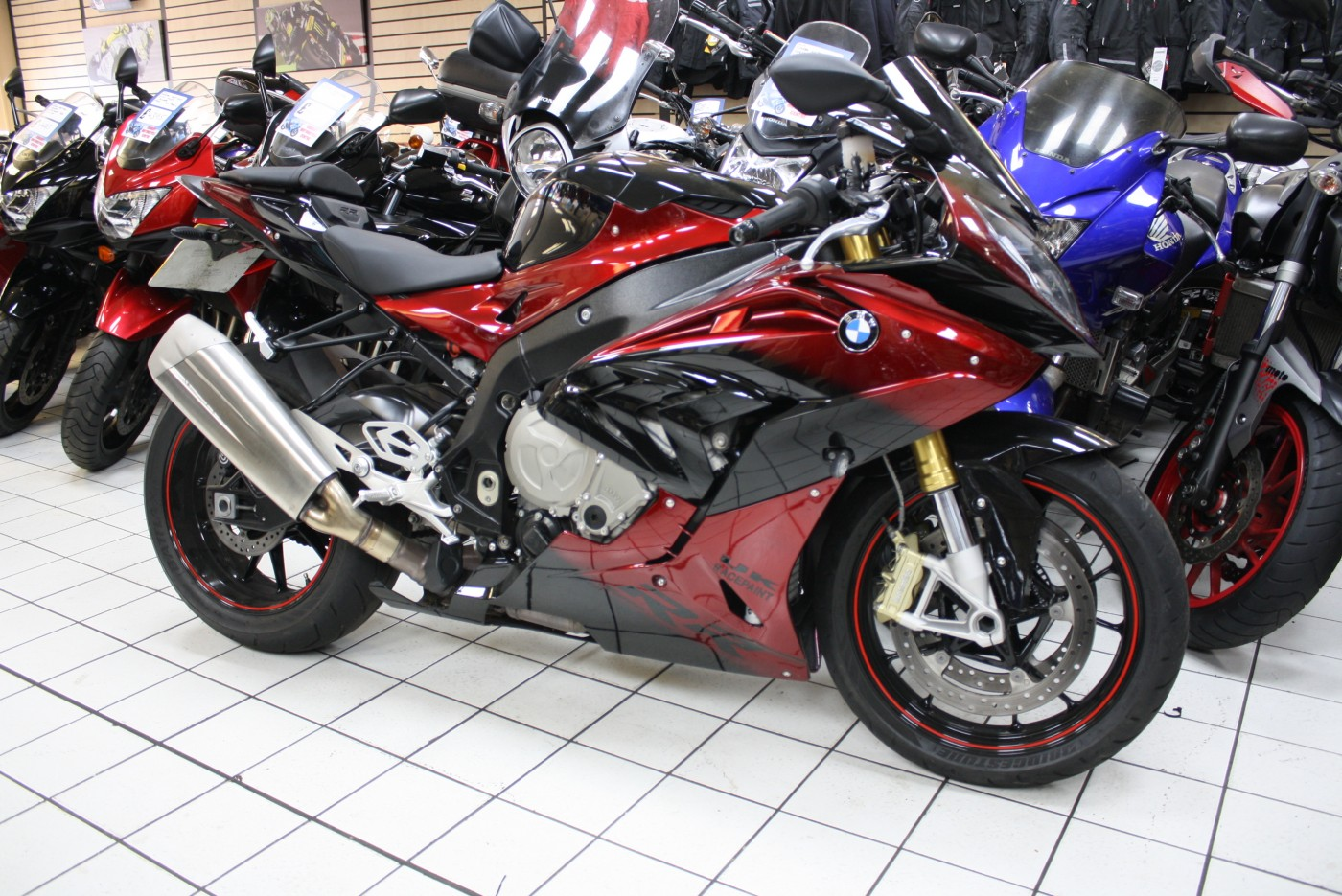BMW S 1000 RR Motorsport only 2551 Miles