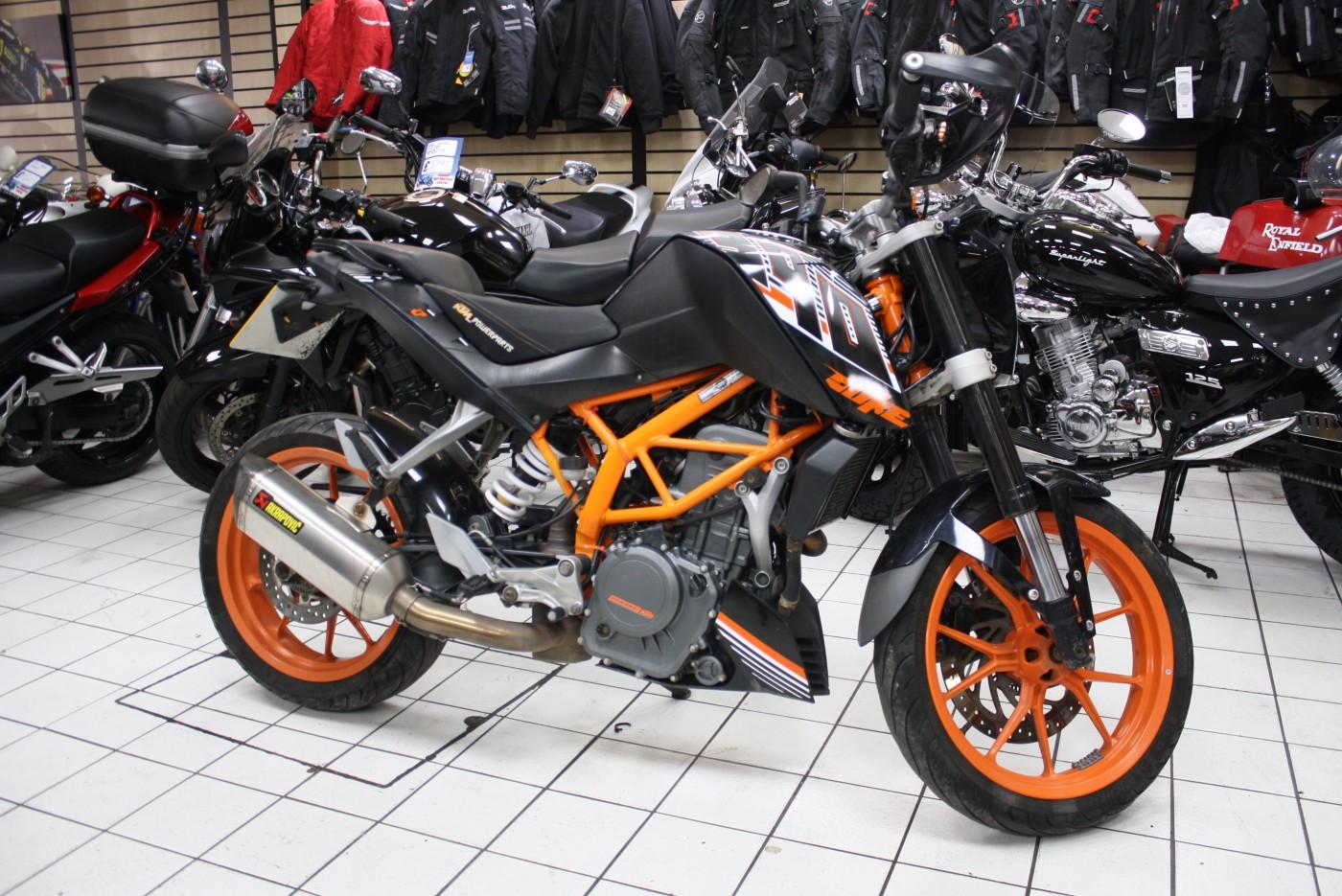 KTM 390 Duke 2015