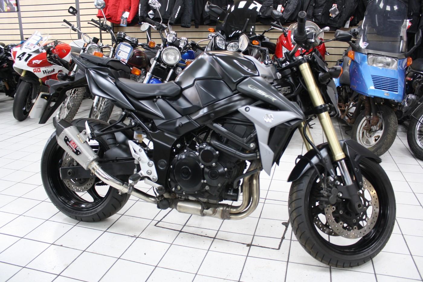 2015 Suzuki GSR750 Grey Yoshimura 18K
