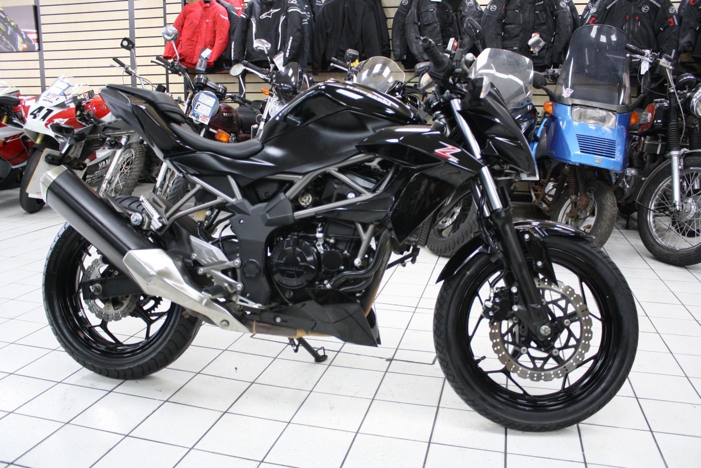 2015 Kawasaki Z250SL BR 250 EFF 3922 miles
