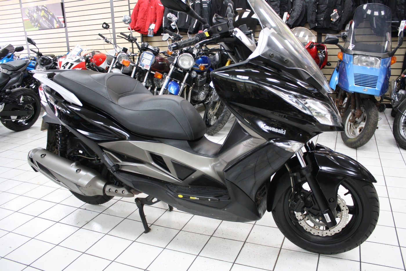 2015 Kawasaki J300 SC300 Black 8k