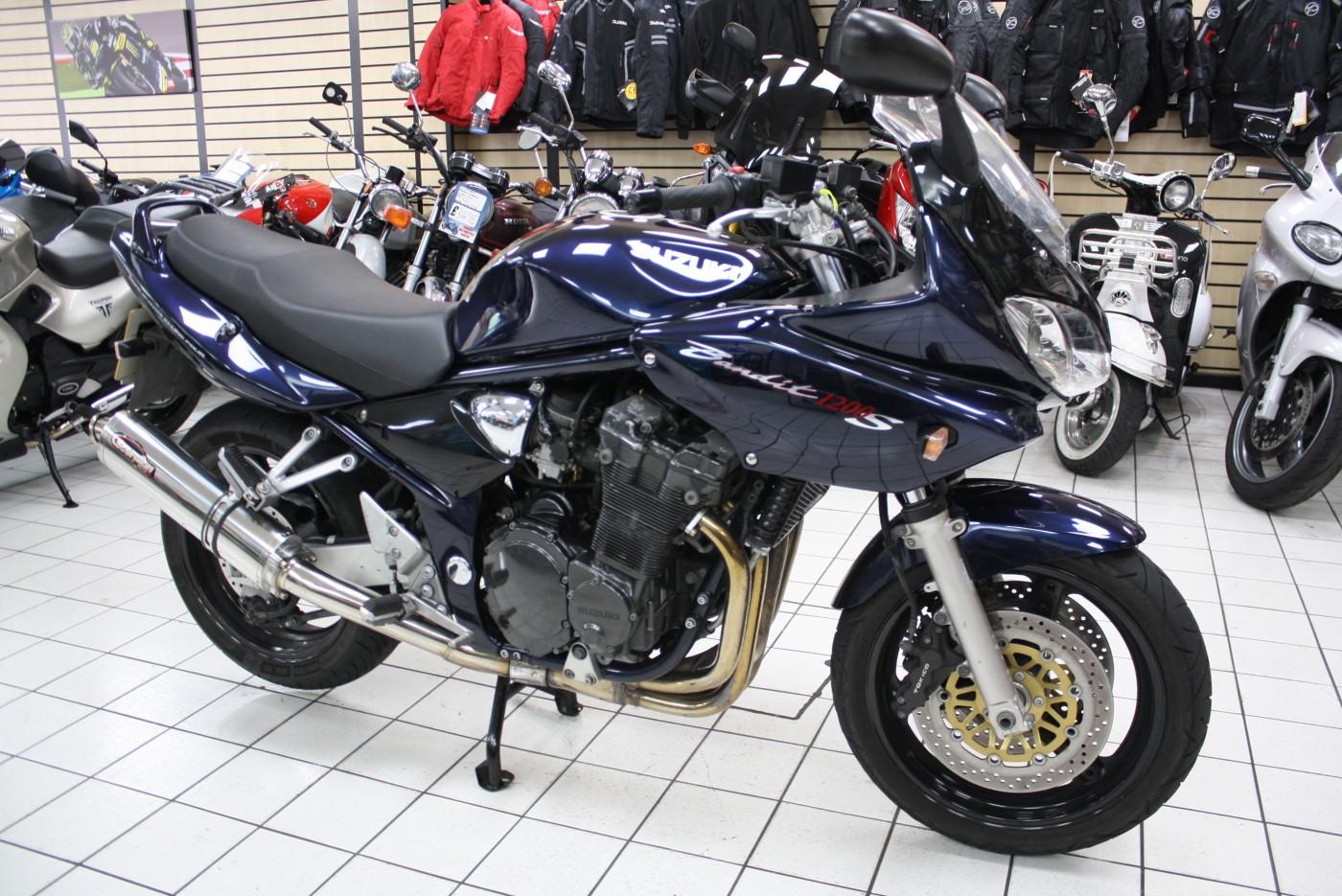 2003 Suzuki GSF1200 Bandit Blue Only 8261 miles
